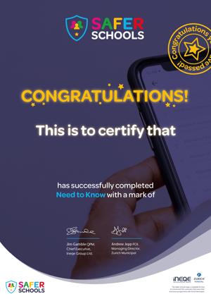 Certificates_Safer_Schools